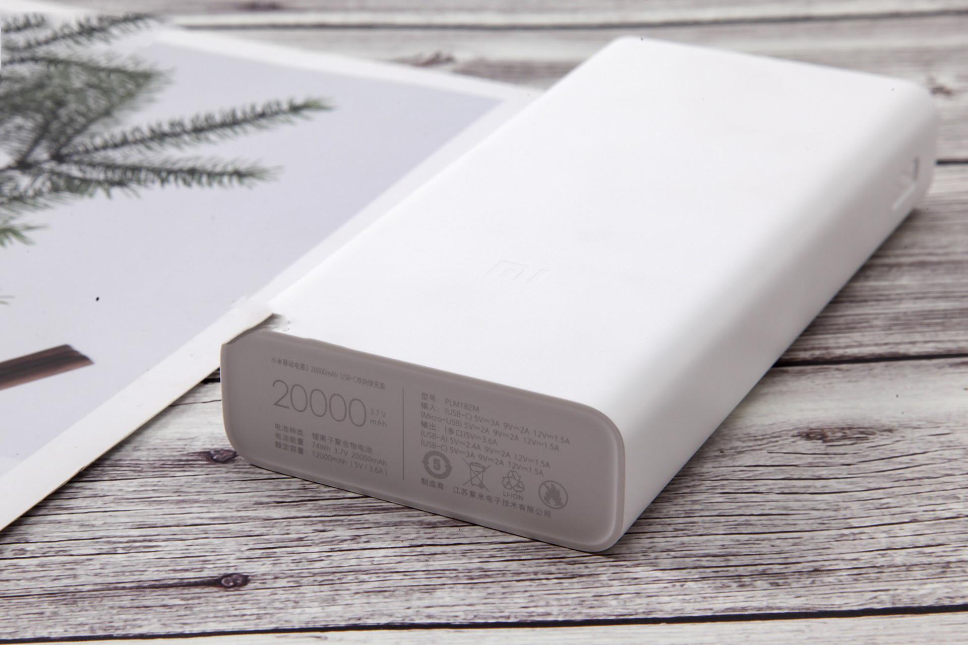 Pin sạc dự phòng 20000mAh Xiaomi gen 3 18W - Xiaomi Nghệ An